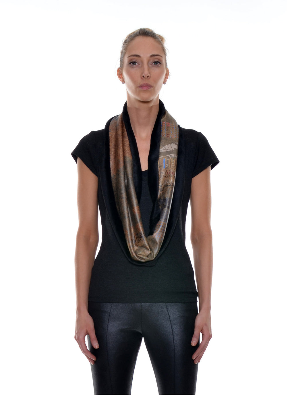 Foulard Tube Réversible no.404