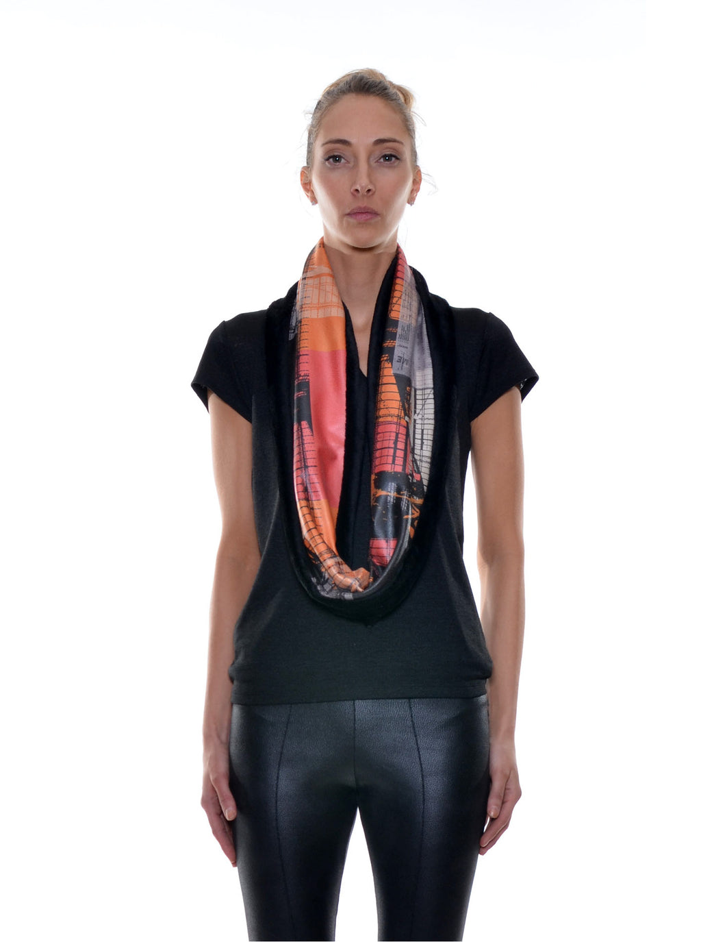 Foulard Tube Réversible no.405