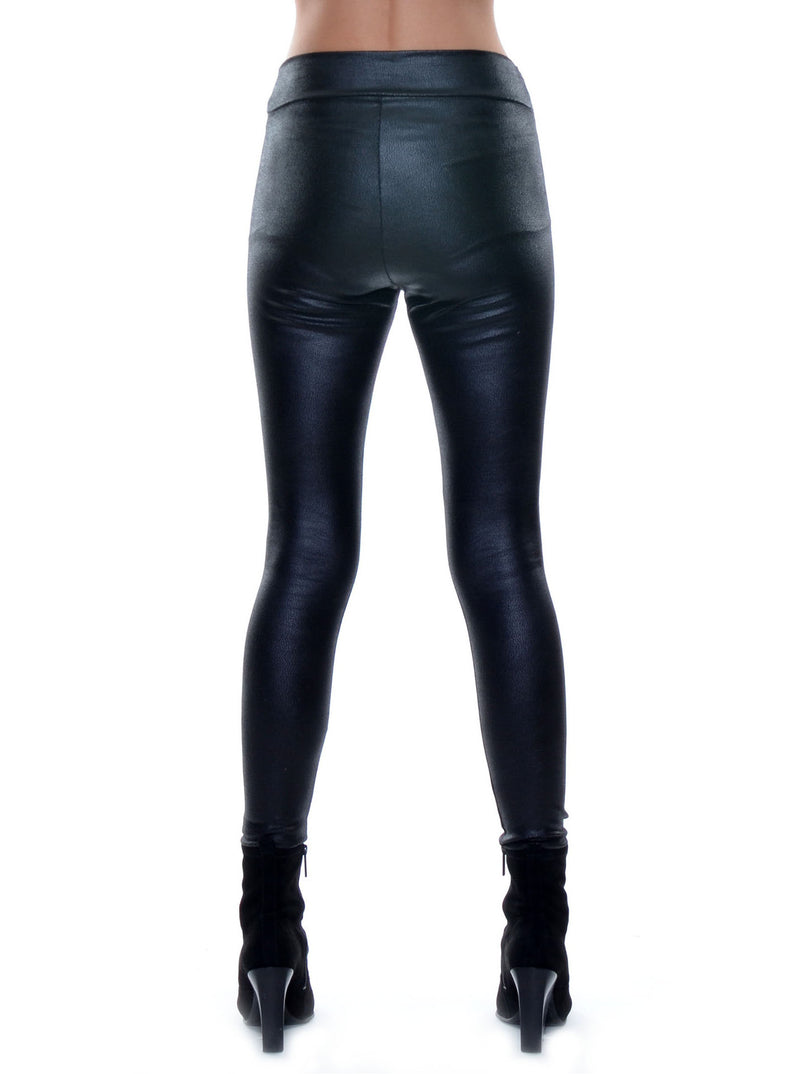 Leggings cuir «vegan» no.406