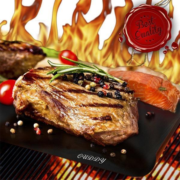 High Temperature Resistant Barbecue Mat