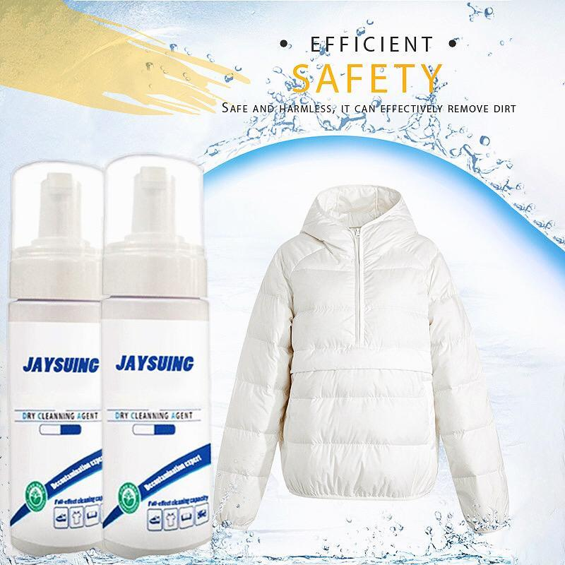Waterless Clothing Cleansing Foam Cleaner