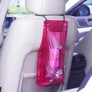 Adhesive Car Trash Bag