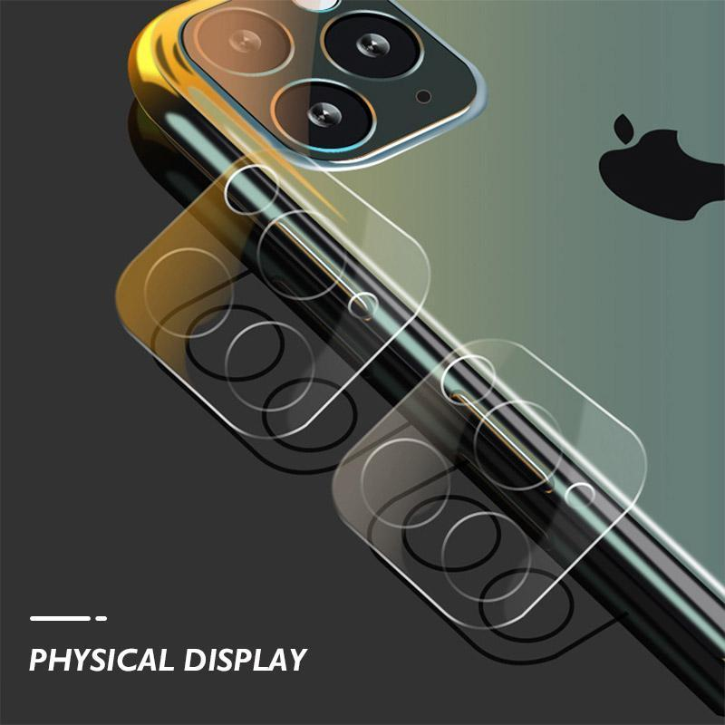 Clear Camera Tempered Glass for iPhone 11