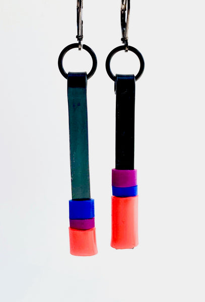 Matchstick Earrings (5cm)