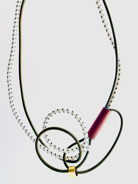 Once Made Necklace: Connect land necklace