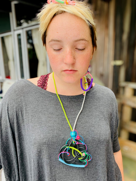 Once Made Necklace: Organized Chaos