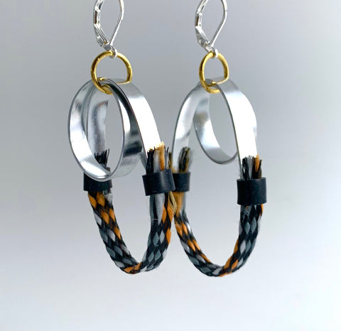 Once Made Earrings: Cable Connect Earrings