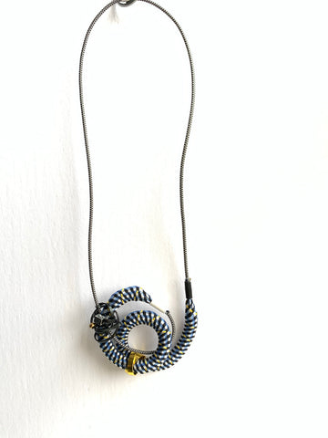 Once Made Necklace: Snail Mail necklace