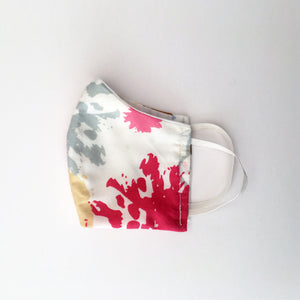 Abstract Floral Cotton Face Mask