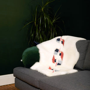 Amalia Embroidered Sheepskin