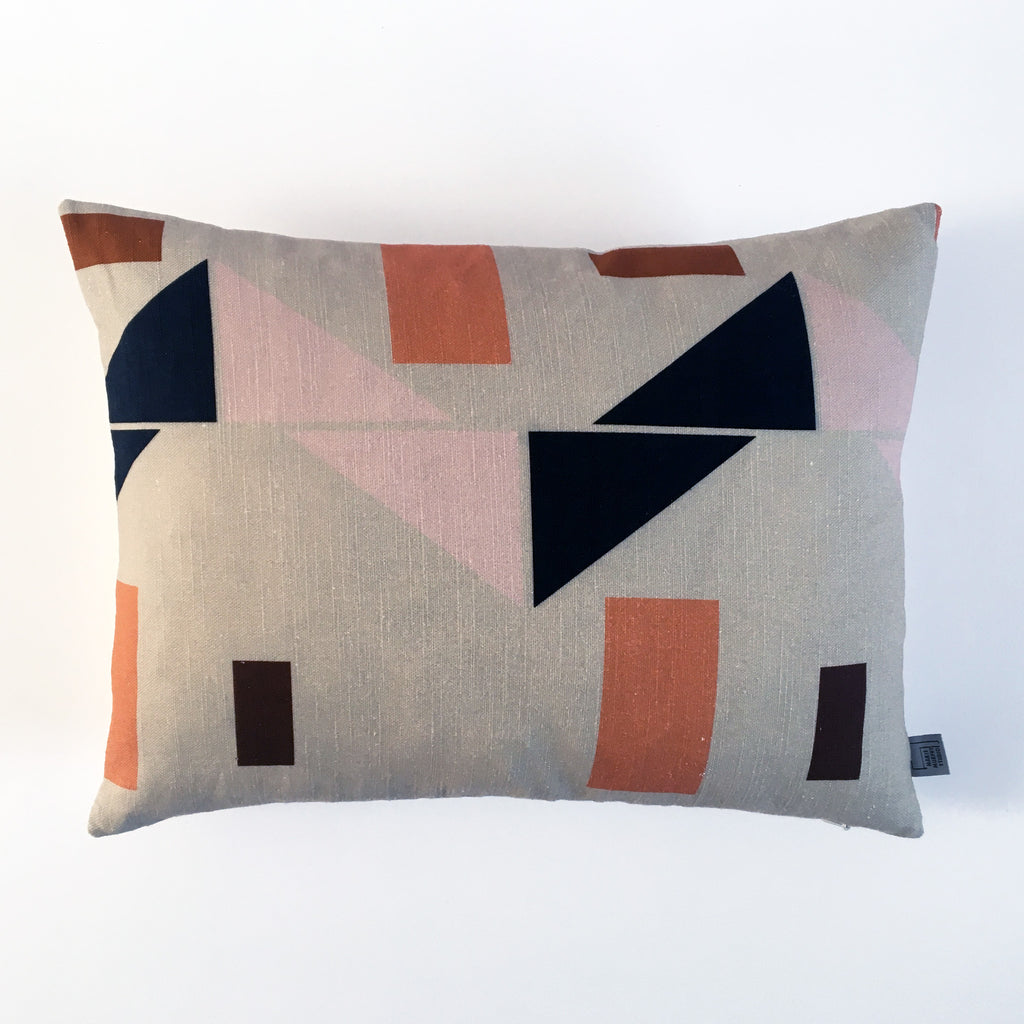 Factory Linen Cushion Oatmeal