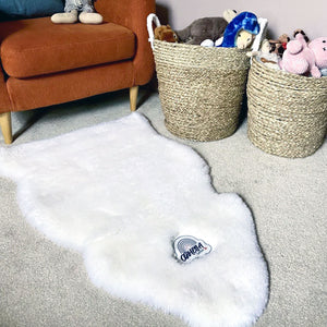 Ophelia Personalised Embroidered Sheepskin