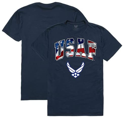 Rapid Dominance Air Force Patriotic Shirts USA American Flag Shirt