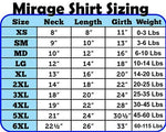 Mirage Pet Products Bone Shaped United Kingdom (Union Jack) Flag Screen Print Shirts Blue XXL (18)