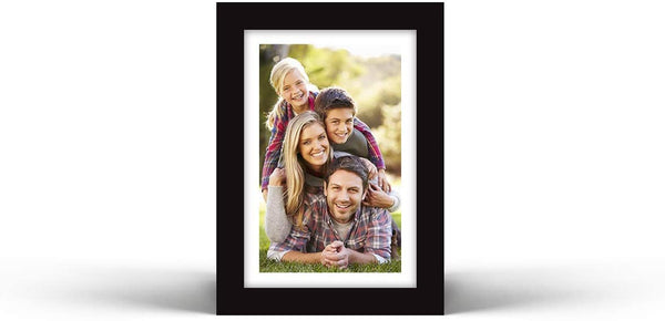 "Vettora Picture Frames with Easel | Photo Frame Includes Wall Display and Table Display, Remember Your Moments | Available in Different Sizes and Black Color (3.5"" x 5"") 12 Packs"