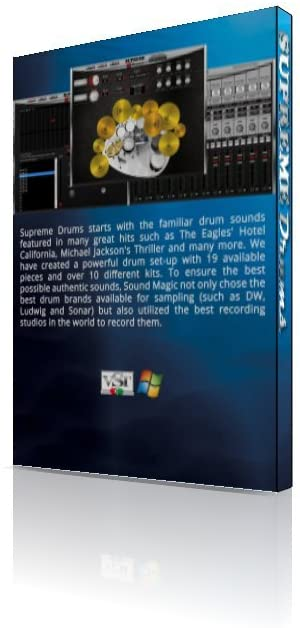 Sound Magic DRUM-01 Supreme Drums Virtual Instrument Software