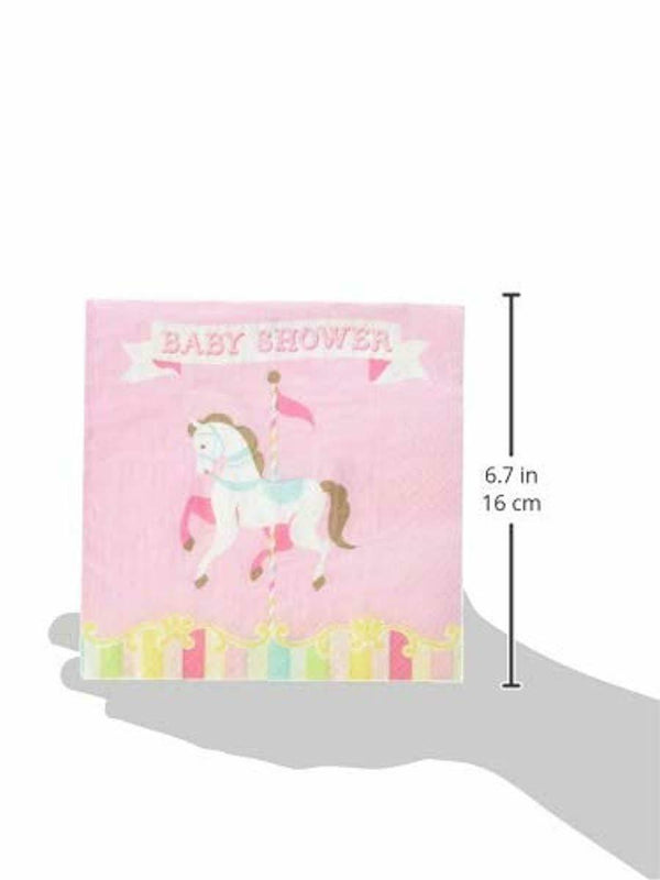 Creative Converting Carousel Luncheon Napkins Party Supplies