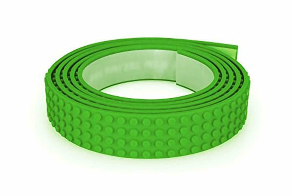 Mayka Toy Block Tape - 4 Stud -Light Green -6 Feet-2 Pack (Compatible with Lego)