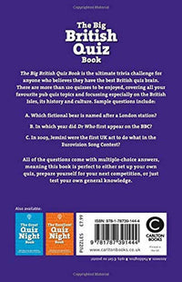 The Big British Quiz Book