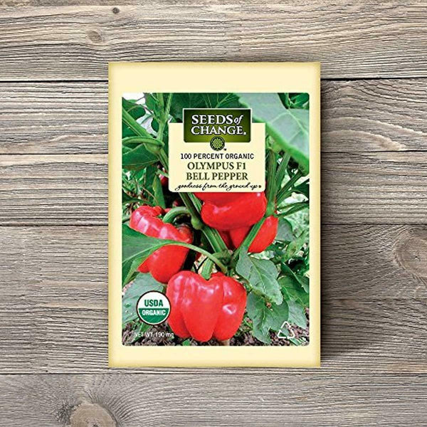 Seeds Of Change 6948 Certified Organic Olympus F-1 Pepper