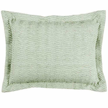 Better Trends Natick Collection in Wavy Channel Stripes Design 100% Cotton, Sage