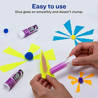 Avery Disappearing Purple Color,0.26 oz Permanent Glue Stick