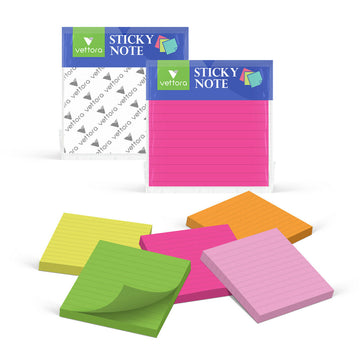 "Vettora Self-Sticky Note Pad(3x3"")