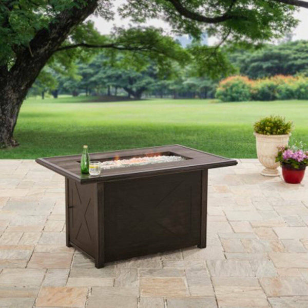 "Better Homes and Gardens 48"" Rectangle Fire Pit - Gas"