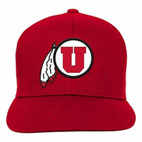 NCAA Youth Outerstuff Team Flat Brim Snapback Hat for Teen Boys