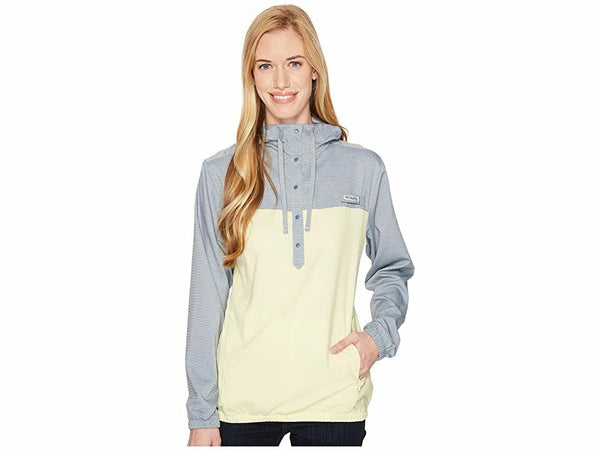 Columbia Women's Tamiami Hoodie, Mountain Heather/Endive, Large