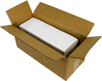 "2000 Labels - 4"" x 6"" Fanfold Direct Thermal Printer White Zebra Shipping Labels Perforated (2000 Labels Total)"