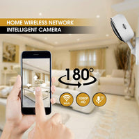 Wireless Security Camera 1080P | 180 Degree Panoramic Camera with Motion Detection,Night Vision,Two-Way Audio,Home Security WiFi IP Camera for Office/Baby/Nanny/Pet Monitor