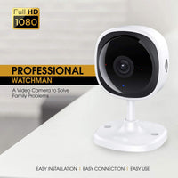 Wireless Security Camera 1080P | 180 Degree Panoramic Camera with Motion Detection,Night Vision