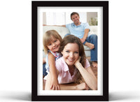 "Vettora Picture Frames with Easel | Photo Frame Includes Wall Display and Table Display, Remember Your Moments | Available in Different Sizes and Black Color (6"" x 8"") 6 Packs"