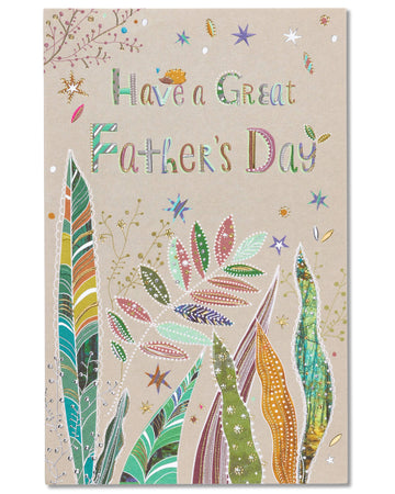 American Greetings Amazing Father's Day Card with Foil