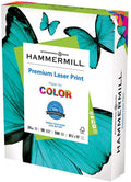 Hammermill Premium Laser Print 24lb Copy Paper, 8.5x11, 1 Ream, 500 Sheets, Made in USA, Sustainably Sourced From American Family Tree Farms, 98 Bright, Acid Free, Premium Laser Printer Paper, 104604R