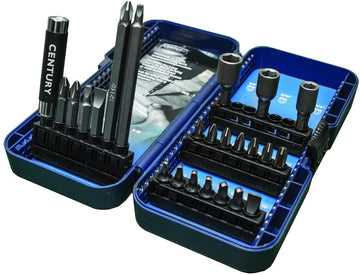 Century Drill & Tool 69024 24 Piece Screwdriving Bit Set
