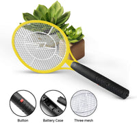 Vettora Electric Fly swatter Mosquito Swatter 3 Layer Hollow Out Battery Operated Bug Zapper