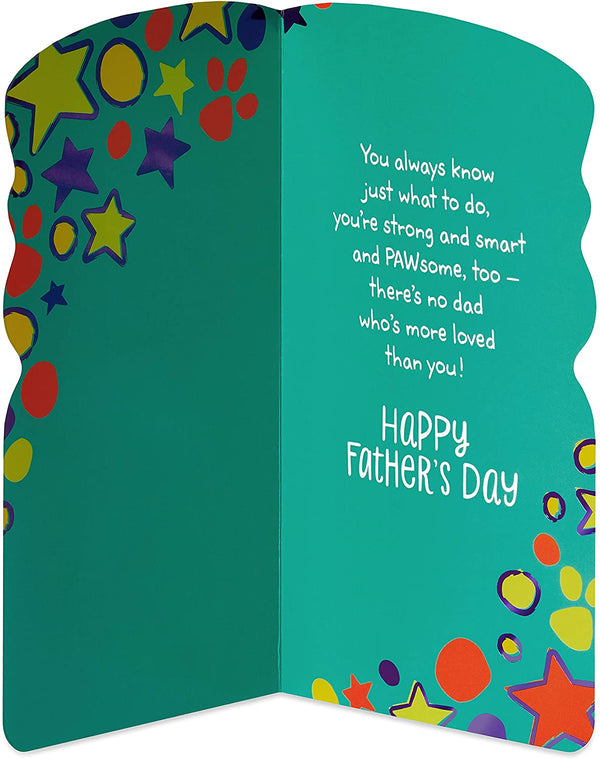 American Greetings Father's Day Card (Paw Patrol)