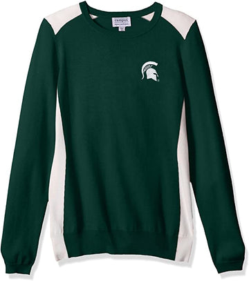 NCAA Color Block Crew Sweater