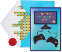 American Greetings Father's Day Card (Premier Video Game)