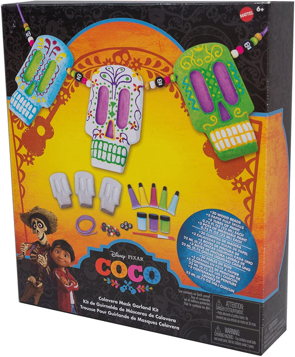 Disney Coco Calavera Mask Garland Kit, Multicolor