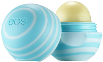 EOS Visibly Soft Lip Balm Sphere, Vanilla Mint 0.25 oz
