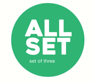 SET OF THREE–MIX