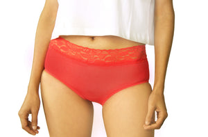 Hipster With Lace Set of 5