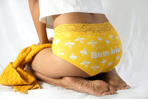 Bumble Bee Hipster With Lace