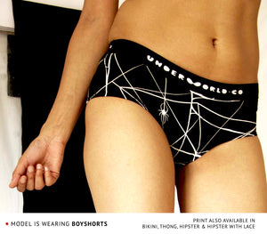 Boyshort Set of Three-Black