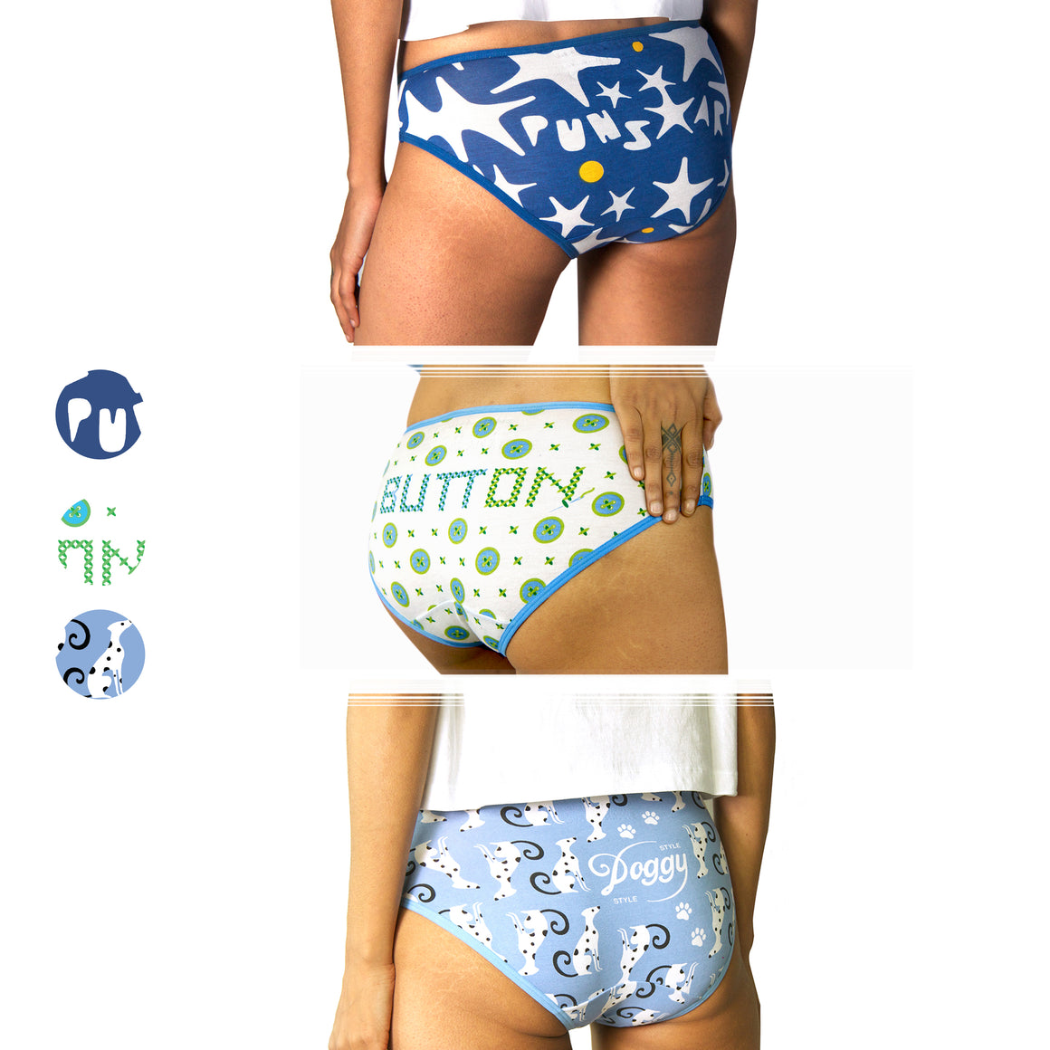 Bikini Set of 3 (Cool)