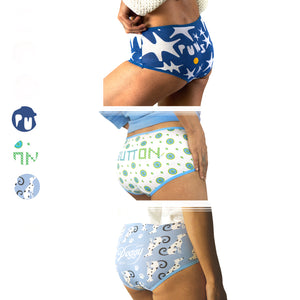 Boyshort Set of 3 (Cool)