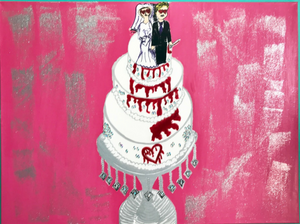 Wedding Cake Painting